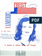 American Atheist Magazine Oct 1976