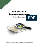 Finantele Intreprinderii Cursuri 1-5