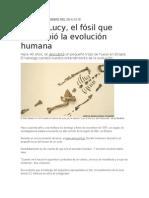 Lucy, El Fósil Que Reescribió La Evolución Humana