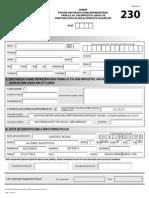 formular 230 ANAF