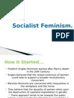 Marxist & Socialist Feminism Presentation