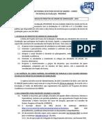 2o Edital de Monitoria 2014