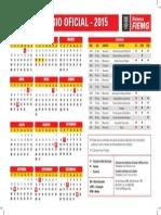 Calendario Fiemg 2015 Saida