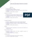 Lista de Verificação Preventiva Grupo Gerador