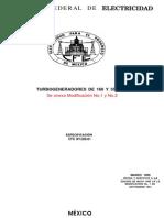 Normas Para Turbogenradores