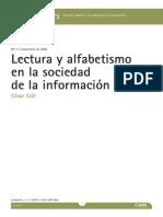 Cesar Coll Lectura y Alfabetismo en La Sociedad de La Informacion