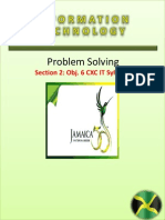 Problem Solving PowerPoint CXC IT Section 2 Obj 6