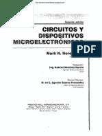 Circuitos y Dispositivos Microelectrónicos - 2da Edición - Mark N. Horenstein