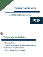Trastornos Mentales Psicosis Tema Clase UNAM 2015