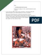 Menu Incas