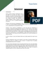 Muhammad Yunus Biografia