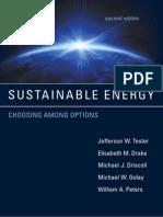 SUSTAINABLE ENERGY - CHOOSING AMONG OPTIONS