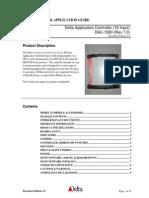 DAC 1600 guia de instalación (1 0)