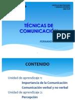 4TECNICAS COMUNICACION