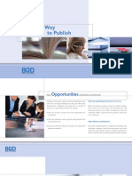 Brochure for Publishers