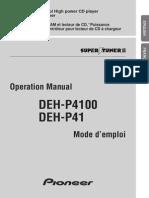 Pioneer DEH 4100