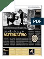 Entre lo oficial y lo alternativo | Textos de mArte | Perú21 | Lima, 04 de enero de 2015