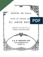 Manuel de Falla-el Amor Brujo