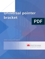 Universal Pointer Bracket Operating Instructions ALI 9.850!11!07 G