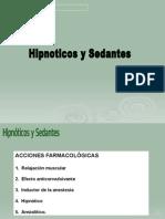 Hipnoticos y Sedantes