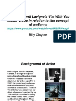 Analysing Avril Lavigne's I'm With You Music Video