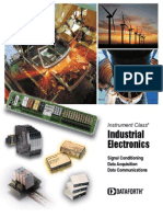 Industrial Electronics - Dataforth Corp Brochure