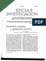 Geometria Ana