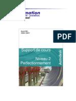 Cours Autocad 2007 - Niveau 2 PM FORMATION