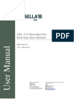 CEL-712 Microdust Pro Handbook ENGLISH HB4048-01