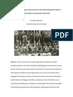 Med Studies Nazism Heidegger