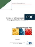 Avances en la implementación de la interoperabilidad en Venezuela