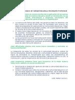 Actividad 1.6 Estandares de Calidad Educativa y Desempeño Profesional