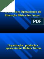 Diretrizes Operacionais Da Educação Básica Das Escolas Do