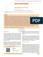 Laryngeal Cancer Imaging