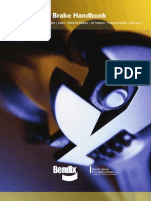 Bendix Brake Handbook 2009 | Anti Lock Braking System | Brake