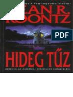 Hideg Tuz - Dean R Koontz