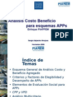 Enfoque de Costo Beneficio Para Proyectos
