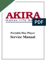 Akira Dm-301p Service Manual