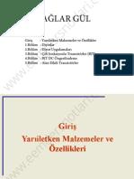 Elektronik II - Çağlar Gül Notları - Analog Elektronik