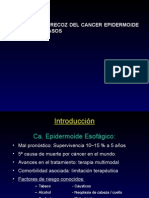 Cancer esofagico casos clinicos