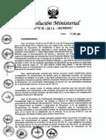 43. RM 019-2014-MINEDU_Cumplimiento de Compromisos