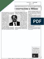 Bond sotto osservazione a Milano (MF, 15-09-2009)