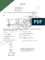 Otomatik Kontrol - Çözümlü Sorular VI