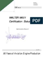 Certification M601D