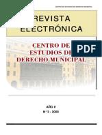 Las Modificatorias a La Ley Organica de Municipalidades