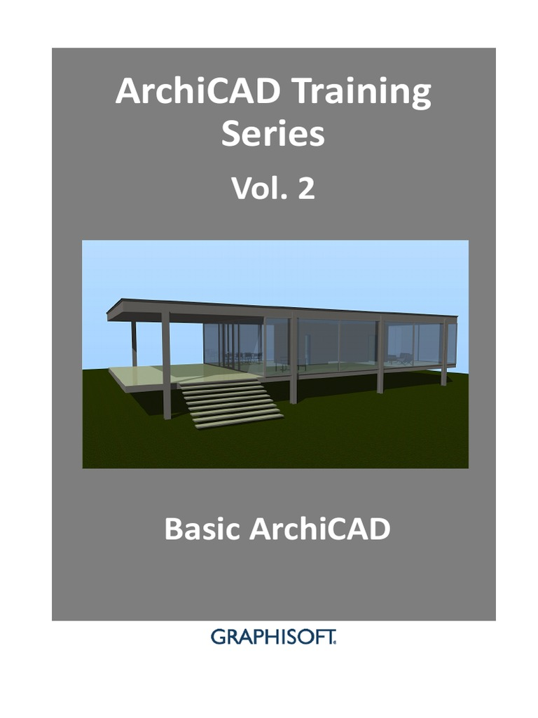 ac training series vol 2 stairs file format rh scribd com Serial Number ArchiCAD 19 Logo