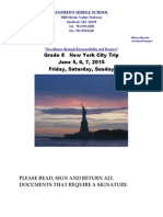 NYC 2015 Info and Permission Form 1.13.14
