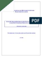 Etude Marche Des Services Telecom Entreprises 2004 0