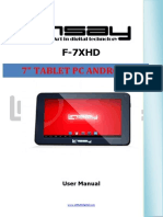 F-7XHD MANUAL