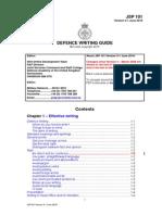 JSP101 Version 3-1 June 2010